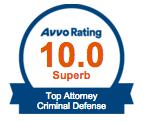 avvo top attorney criminal defense